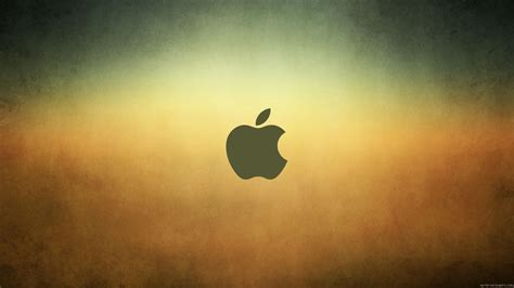 apple wallpapers 1366x768 fond d 233 cran logo apple sur un fond d 233 grad 233 my hd wallpapers