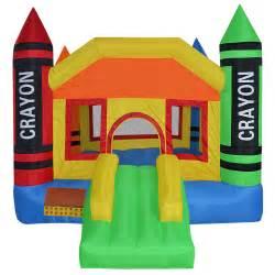 Bounce House Mini Crayon Bounce House Jump Castle