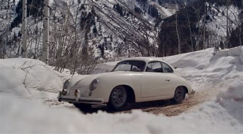 porsche snow porsche 356 pre a driven in the snow a thing of true