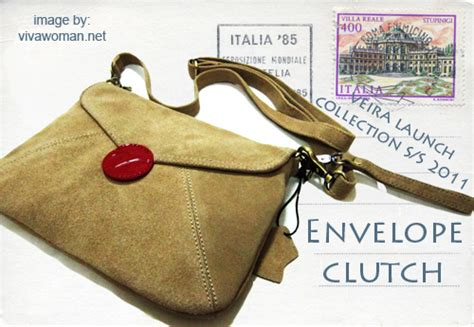 Simple With Sang A Clutch by Vintage Voyager Bags An Ode To Postal Mails