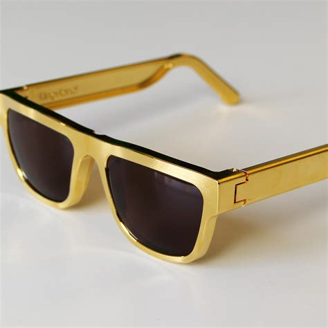 gold plated sunglasses cool hunting