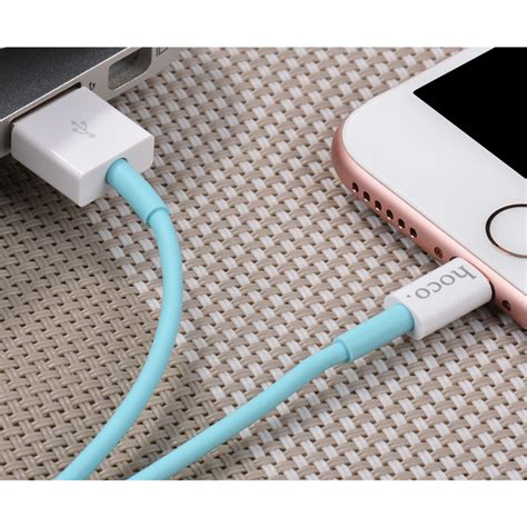 Hoco X8 Lightning Charging Cable 1m For Iphone Murah hoco x8 lightning charging cable 1m for iphone blue