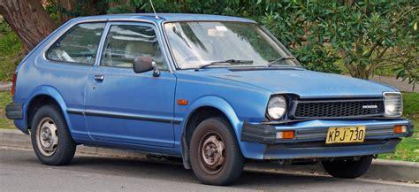 hatchback cars 1980s 1980 honda civic hatchback