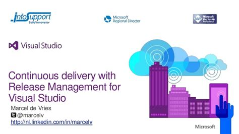 manage assets for the delivery of a release continuous delivery with release management for visual studio