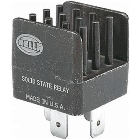 hella hl87251 mini solid state relay, 12v, 20a | rally lights