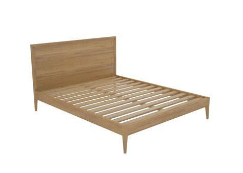 nirvana custom timber bed frame pine or tas oak