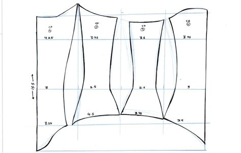 pattern making bodice corset pattern by kate awesome available on totally