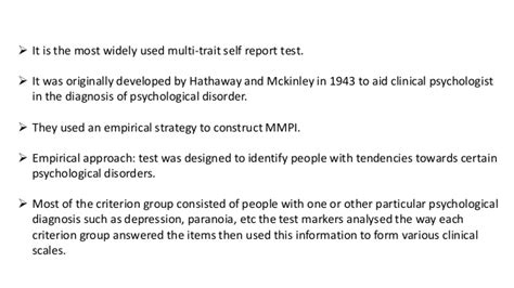 test mmpi mmpi minnesota multiphasic personality inventory
