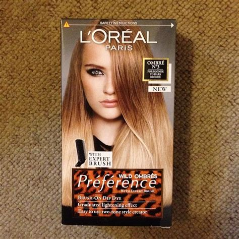 Loreal Ombre ombre hair box dye reviews