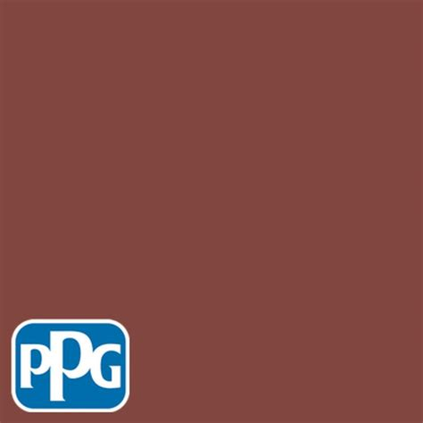 ppg 8 oz hdppg1n27 brick satin interior exterior paint sle hdppg1n27 08s the home depot