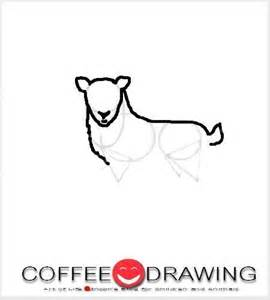 how to draw a christmas deer reindeer step 3 1
