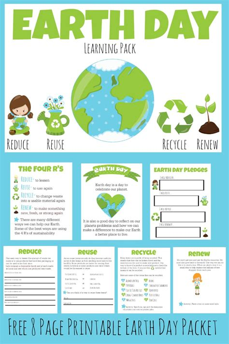 day activities for earth day lesson for