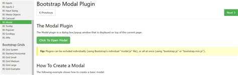 bootstrap tutorial popup bootstrap modal popup content