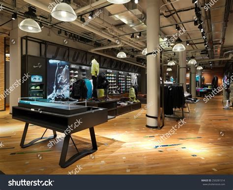 athletic shoe stores nyc new york usa january 22 2015 nike running concept store