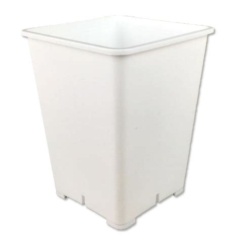 White Square Planter Pots by 6 Quot White Square 8 Quot Pot
