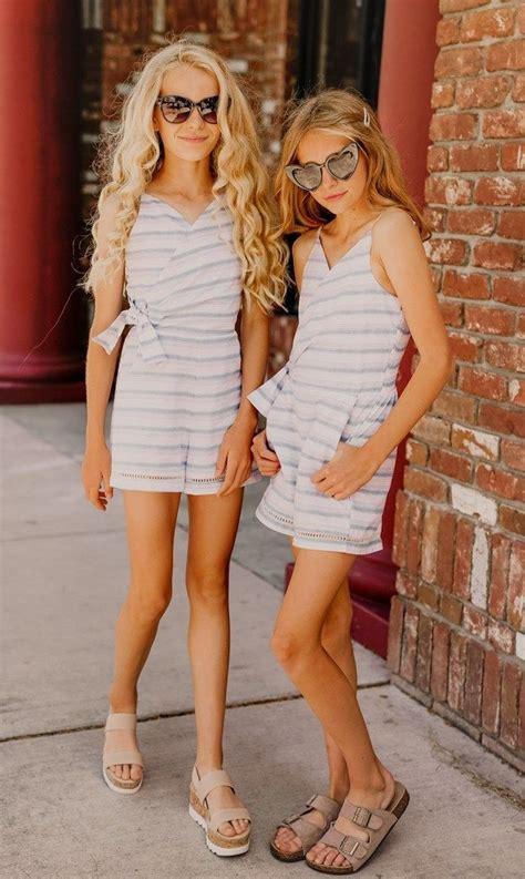 romper girls tween teen summer outfit tween