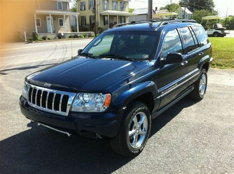 2004 Jeep Grand Overland For Sale Find Used 2004 Jeep Grand Overland 4 7l H O