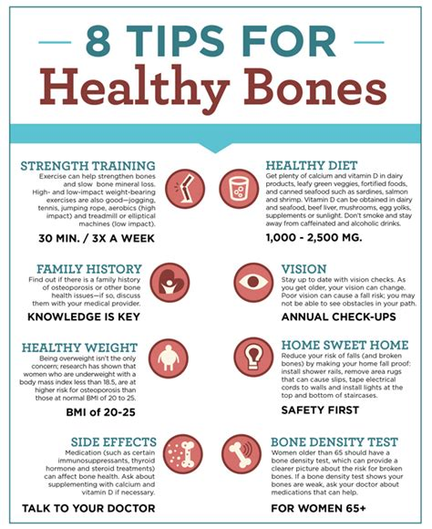 eight tips for healthy bones