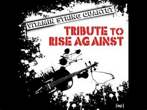 rise against swing life away swing life away vitamin string quartet tribute to rise