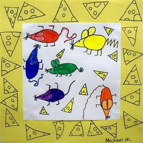 souris fromage aula y artistas
