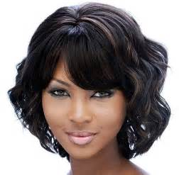 and wavy black hairstyles beautiful short hairstyles for black women short