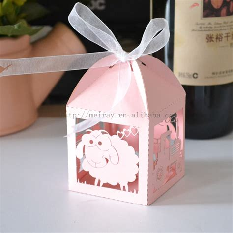 Original Baby Shower Gifts by Aliexpress Buy Sheep Paper Bags Baby Pink Baby
