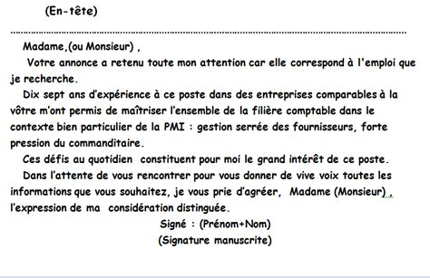 Exemple De Lettre Administrative Demande D Emploi La Lettre Administrative