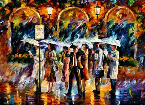 show de painting leonid afremov on canvas palette knife buy original