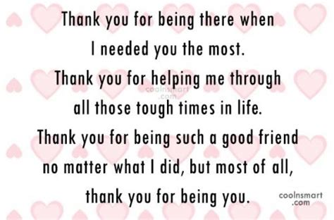 thank you letter to a friend for being there thank you messages to friends thank you notes