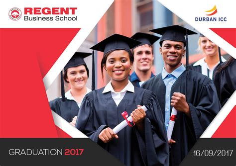 Regent Business School Mba by 2017 Graduation Regent Business School
