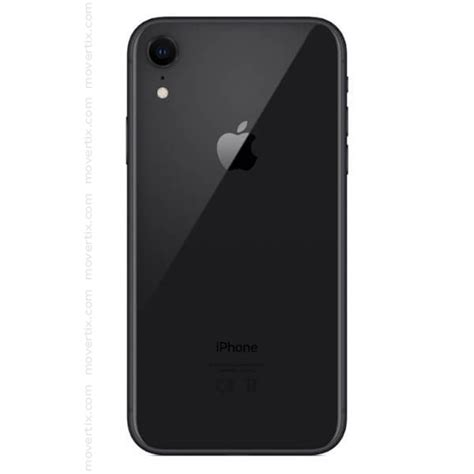iphone xr apple iphone xr black 128gb 0190198772541 movertix mobile phones shop