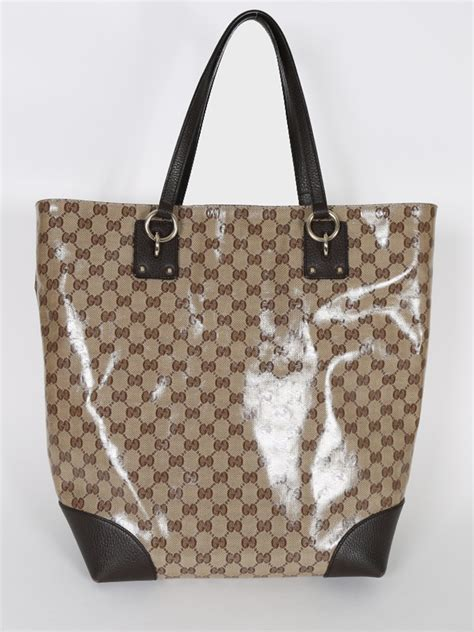 Gucci Luxury Bag gucci gg brown leather shopping bag luxury bags