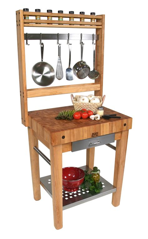 boos cucina premo work station pot rack