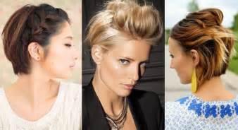 20 coiffures pour cheveux courts vues sur