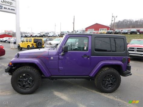 purple jeep 2016 xtreme purple pearl jeep wrangler 4x4