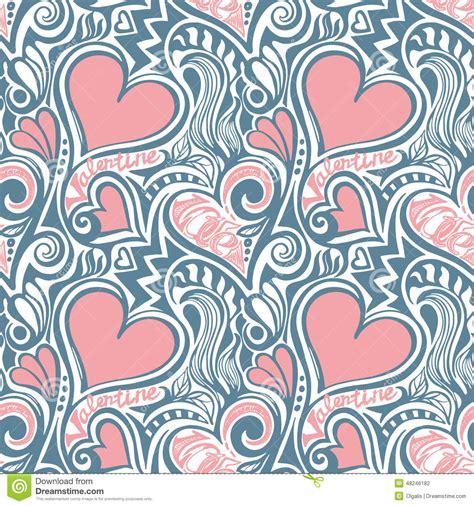 fabric pattern love love valentine seamless pattern stock vector image 48246182