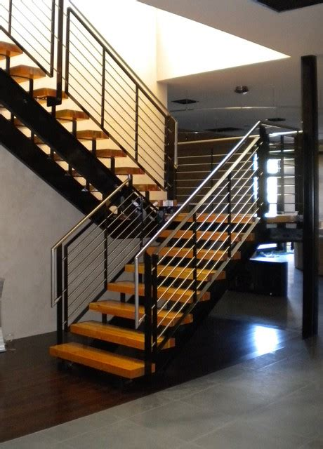 Mission Style Home Decor by Stainless Steel Stair Railing Staircase Phoenix By