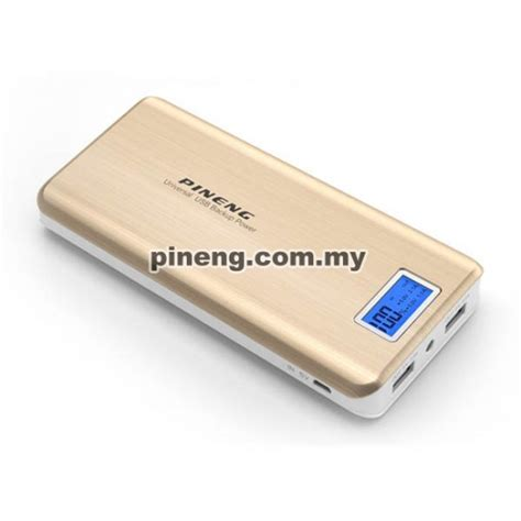 Power Bank Jenama Pineng pineng pn 999 20000mah power bank gold