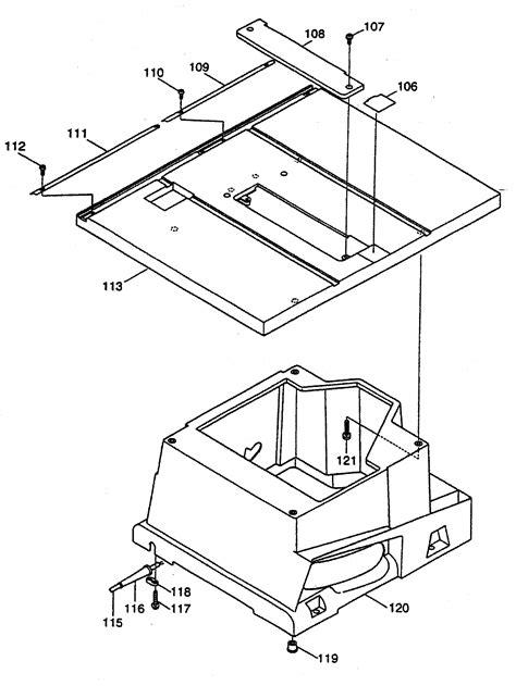 makita table saw parts makita table saw saw parts model 2703x1 searspartsdirect