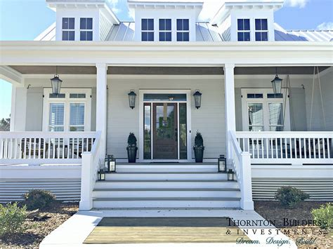 modern farmhouse porch thornton builders the modern farmhouse farm house love