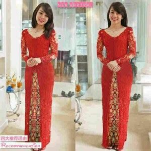 Yoel Blouse Tangan Panjang Merah Bagus Murah baju kebaya abu abu modern cantik terbaru murah ryn