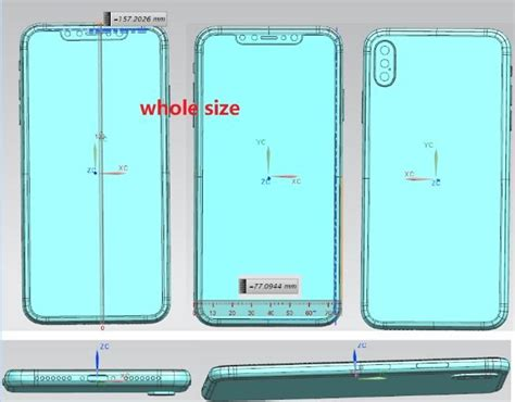 apple s 6 1 quot lcd iphone 9 6 5 quot oled iphone x s plus see a familiar yet dubious schematic leak