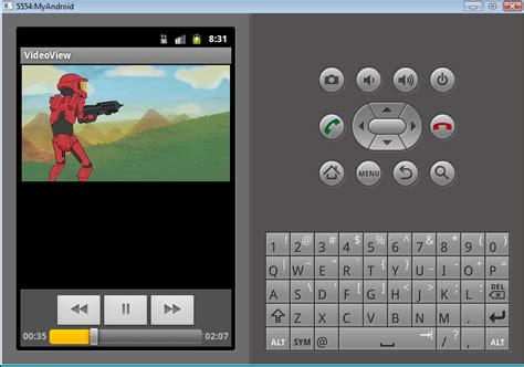 android videoview new features in android 2 3