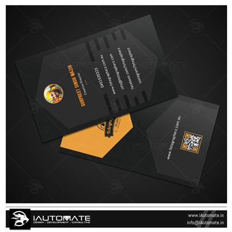 Business Card Design Portfolio
