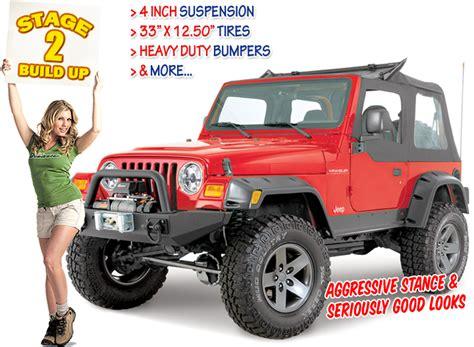 Jeep Essentials Catalog Stages 1997 Tj Wrangler Stage 2 Quadratec