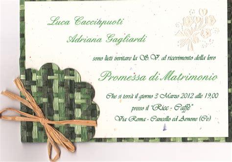 promesse di matrimonio testo promesse di matrimonio di luca cacciapuoti e