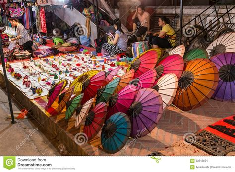 Souvenir Laos 2 luang prabang laos circa august 2015 souvenirs are