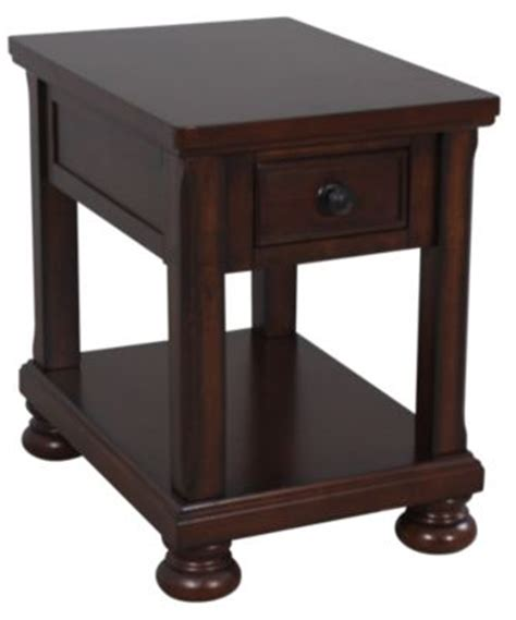 porter chairside end table porter chairside table homemakers furniture