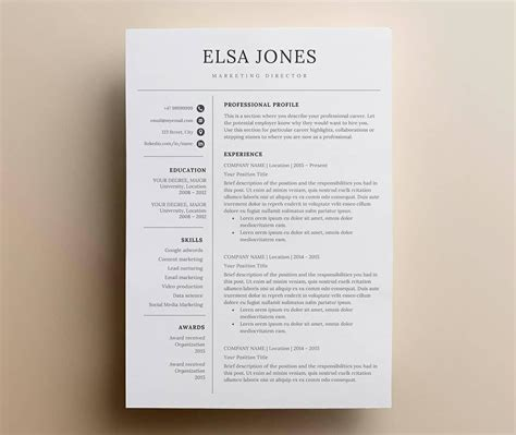 Simple Resume Layout by Simple Resume Templates 15 Exles To Use Now