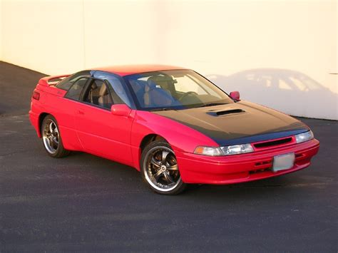subaru svx jdm 95 brilliant red ls the subaru svx world network
